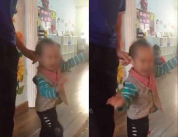 Clip cô giáo mầm non dùng dép đánh trẻ ở trường mầm non nổi tiếng Hà Nội gây xôn xao - Ảnh 2