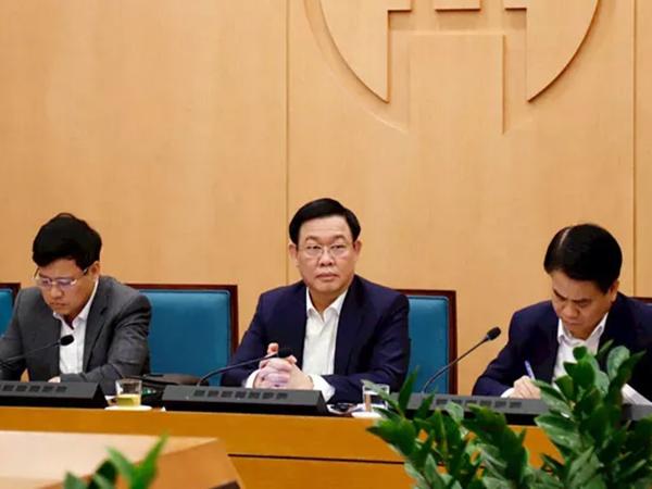"""Bí thư Thành ủy Hà Nội Vương Đình Huệ: """"Người dân vào các siêu thị mua hàng rất đông sẽ tạo nguy cơ lây nhiễm dịch bệnh lớn"""""""