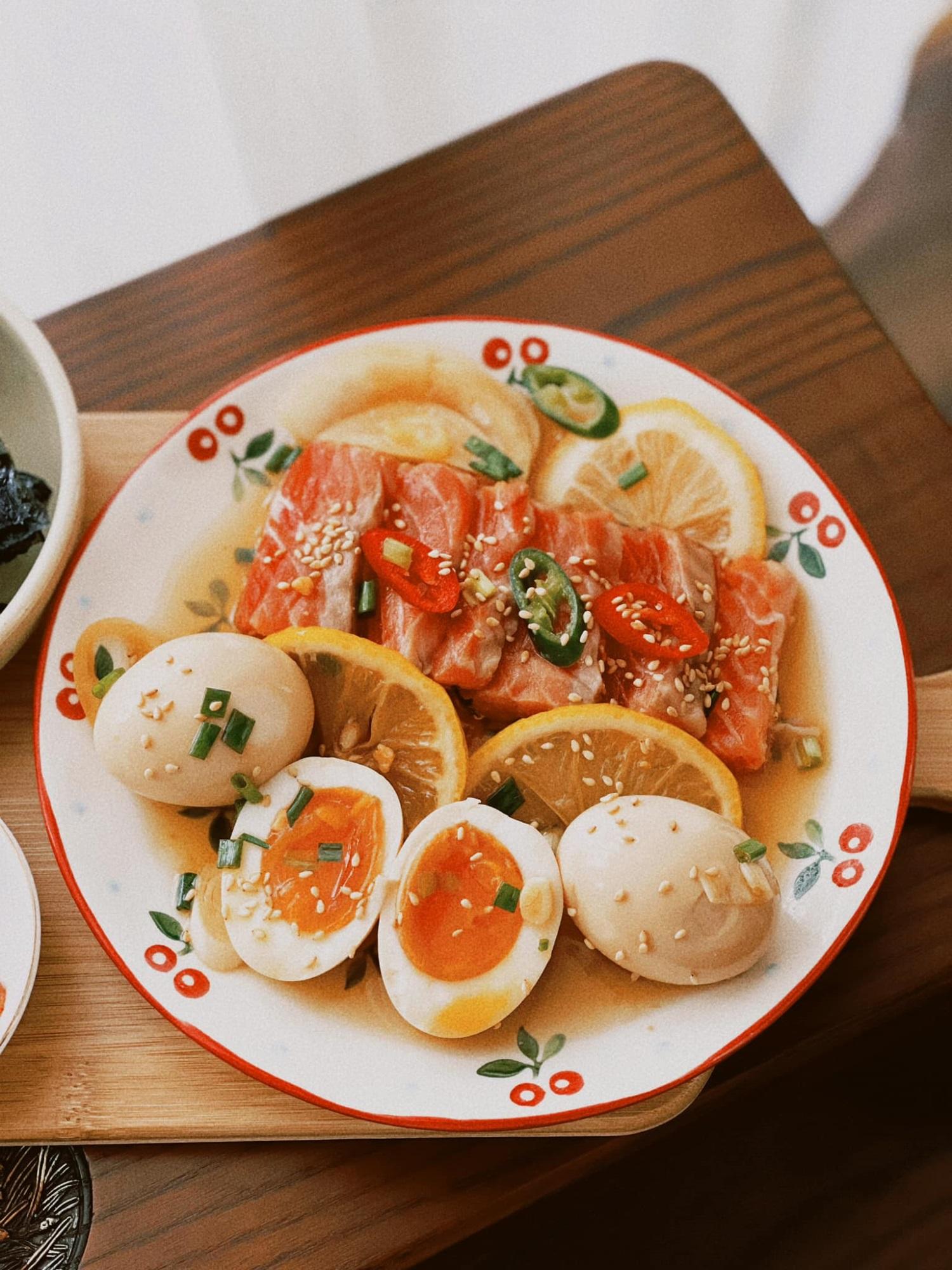 Cách làm cá hồi ngâm tương đậm vị, đưa cơm - ăn một miếng 'tay chân quắn quéo' vì quá ngon - Ảnh 7