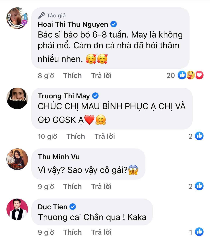 Hoa hậu Thu Hoài gặp chấn thương nghiêm trọng ở Mỹ, Hari Won - Mai Hồ cùng dàn sao Việt đồng loạt lo lắng hỏi thăm - Ảnh 2