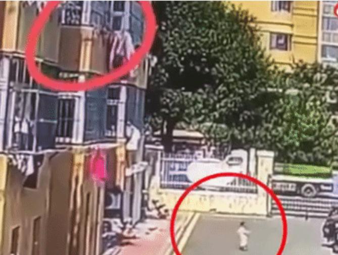 Clip: Người phụ nữ tàn độc ném thẳng chậu cây xuống đầu đứa trẻ, lý do đằng sau khiến cộng đồng mạng 'ngứa máu' - Ảnh 1