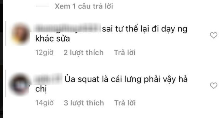 Ngọc Trinh đăng clip hướng dẫn tập thể dục, ai dè bị netizen chỉ ra lỗi sai cơ bản, có nguy cơ tổn thương lưng nghiêm trọng - Ảnh 3