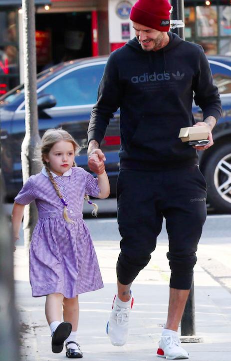 Fan David Beckham được pha bổ mắt ngắm visual cực đỉnh nhà BeckVic, nhưng công chúa nhỏ Harper lại chiếm trọn spotlight của bố - Ảnh 9