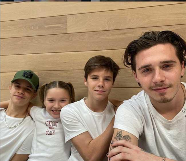 Fan David Beckham được pha bổ mắt ngắm visual cực đỉnh nhà BeckVic, nhưng công chúa nhỏ Harper lại chiếm trọn spotlight của bố - Ảnh 10
