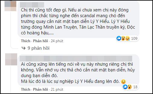 Góc 'chơi dại': Hoa đán TVB công khai đá đểu Ngô Diệc Phàm, ai dè bị 'khui' lại phốt thả chó cắn nát đầu bạn diễn - Ảnh 5
