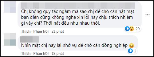 Góc 'chơi dại': Hoa đán TVB công khai đá đểu Ngô Diệc Phàm, ai dè bị 'khui' lại phốt thả chó cắn nát đầu bạn diễn - Ảnh 4