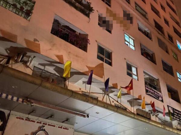 Rơi từ tầng 12 chung cư ở Hà Nội trong đêm, bé gái 12 tuổi thiệt mạng, người mẹ gào khóc khi hay tin dữ - Ảnh 1