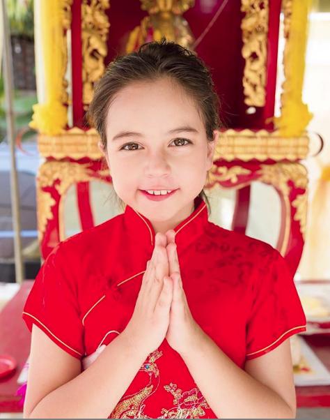 'Thiên thần nhí đẹp nhất Thái Lan' bất ngờ xuất hiện với nhan sắc 'đẹp như tạc tượng' sau 7 năm kể từ khi nổi tiếng - Ảnh 14