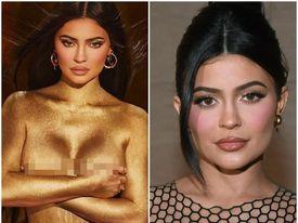 """Kylie Jenner tung bộ ảnh phô diễn đường cong bán nude đón tuổi mới, khẳng định """"vàng 24K cho tuổi 24"""""""