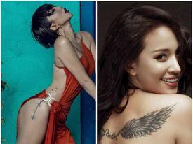 """Những mỹ nhân Việt sở hữu hình xăm ở những vị trí """"đắc địa"""", ngỡ là """"bad girl"""" nhưng hóa ra là """"good girl"""""""