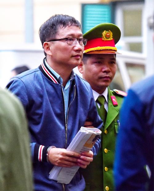 Hôm nay ông Đinh La Thăng, Trịnh Xuân Thanh hầu tòa - Ảnh 1