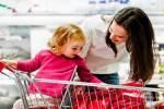 Nguy hiểm với ổ vi khuẩn ở xe đẩy siêu thị tấn công trẻ nhỏ