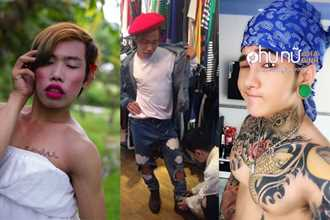 Hot boy xăm trổ chi 2000 USD cho Tùng Sơn sửa hết mặt vì mục đích này