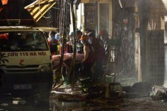Đã có nạn nhân tử vong trong vụ cháy kinh hoàng ở Hà Nội