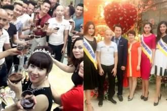 Hơn 50 nghệ sĩ đến tham dự sinh nhật đại gia Thái Bình khiến đường phố tắc nghẽn