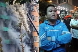 Vụ cháy lớn ở Trần Thái Tông: Chàng trai 26 tuổi dũng cảm lao vào đám cháy cứu hàng chục người