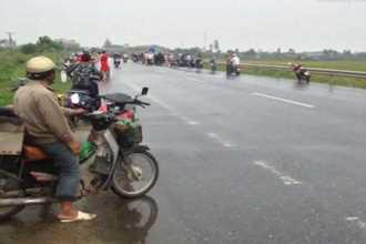 Vụ mẹ đi xe SH chở con tại Thái Bình bị tử vong: Không phải do bị chém?
