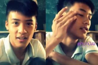 Lộ clip năm lớp 12 của Đạt Cỏ: Mặt chưa có sẹo, chơi beatbox cực chất