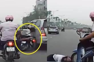Kẻ lái ô tô tông ngã cô gái trên đường Võ Chí Công rồi thản nhiên bỏ đi lên tiếng thanh minh