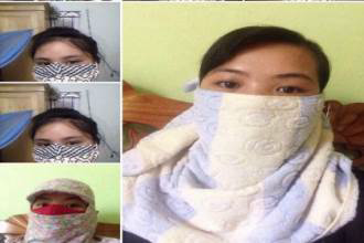 Xuất hiện người phụ nữ nghiện bịt mặt làm náo loạn Facebook