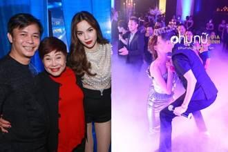 Hot: Chu Đăng Khoa công khai hôn Hồ Ngọc Hà ngay trên sân khấu ở Mỹ