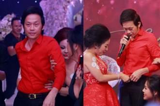 NSƯT Hoài Linh cũng 'quậy' hết cỡ trong đám cưới Hari Won và Trấn Thành