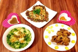 Bữa cơm đơn giản mà ngon cho cả nhà