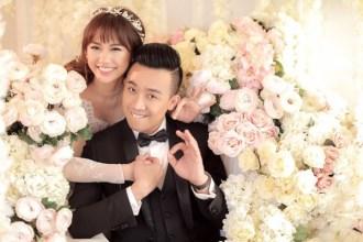 Hé lộ loạt ảnh cưới chưa từng công bố của Trấn Thành - Hari Won