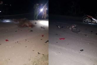 Phú Thọ: Xe máy húc trực diện vào ô tô, 1 người tử vong