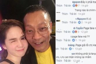 Hari Won đăng ảnh Ngọc Trinh bên nhà báo Lại Văn Sâm và chuyện ngoại tình