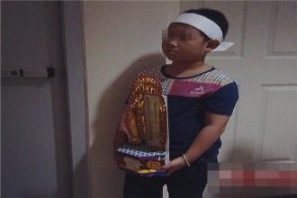 Thi thể nữ sinh lớp 9 trong thùng xốp ở chung cư: Em trai nhỏ bé