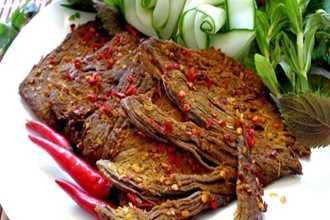 Cách làm bò khô tại nhà ngon hơn ngoài hàng ai ăn cũng muốn ăn mãi