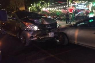 2 người bị thương sau tai nạn liên hoàn giữa 5 phương tiện ở Sài Gòn