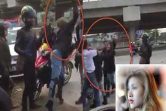 Lộ diện nữ phượt thủ xinh đẹp tấn công người lái taxi bằng gạch