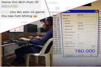 Sốc với thanh niên Lào Cai cày game 6 ngày tết liền ở quán net