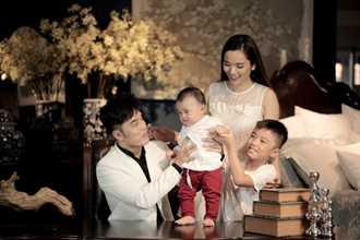 Ưng Hoàng Phúc, Kim Cương lần đầu khoe ảnh con trai