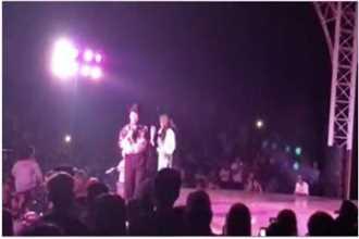 Clip: Bị khán giả ném chai lên sân khấu, Trường Giang giận dữ bỏ diễn