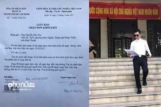 Chồng thứ 2 của Phi Thanh Vân công khai ảnh nộp đơn ly hôn đúng ngày Valentine