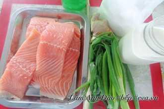 Cách làm ruốc cá hồi bổ dưỡng mà không còn mùi tanh cho bé