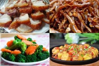 Thưởng thức mâm cơm ngon bổ dưỡng ngày cuối tuần giá chỉ 67000 cho 5 người ăn thoải mái