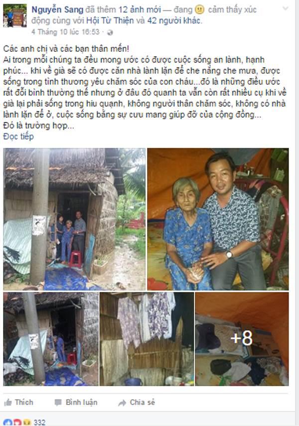 Cụ già 81 tuổi bị con chối bỏ, 'có miếng ăn qua ngày là cả niềm ước ao' được dân mạng giúp đỡ - Ảnh 4
