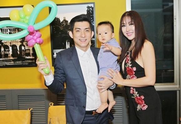 Con trai của Phi Thanh Vân rất kháu khỉnh đáng yêu