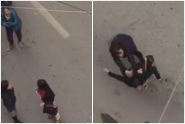 Người phụ nữ bị tát, chửi bới, đánh đập dã man nghi do ghen tuông - Ảnh 1