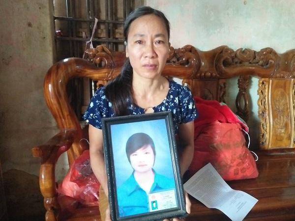Nỗi đau của người mẹ suốt 3 năm ám ảnh vì cái chết của con gái trước ngày đi xuất khẩu lao động.