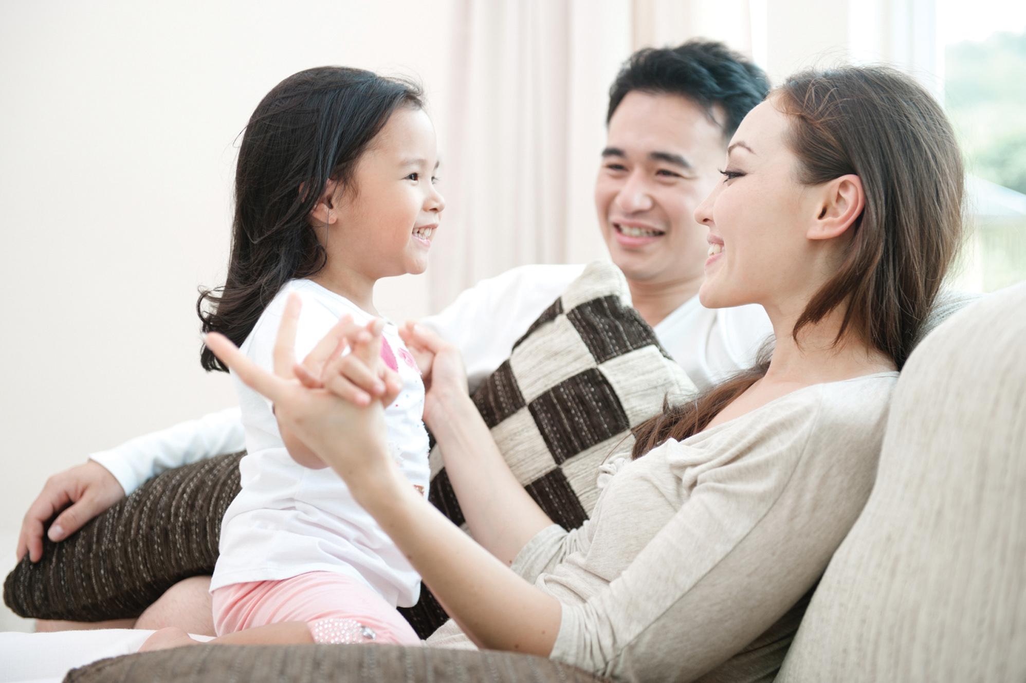 Hãy để đứa con trở thành niềm vui của mình