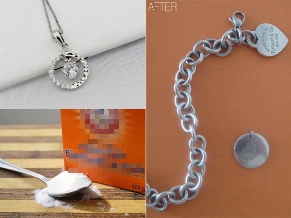 Hướng dẫn cách làm mới trang sức bạc hiệu quả ngoài sức tưởng tượng