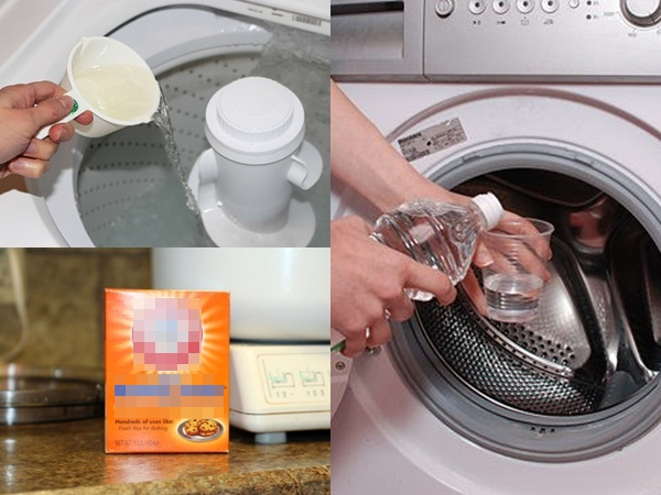 Mẹo cực hay giúp máy giặt sạch như mới mua trong tích tắc