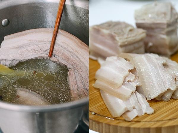Luộc thịt lợn cứ làm theo cách này, thịt vừa mềm ngọt, trắng đẹp, không bị hôi lại đào thải hết chất độc