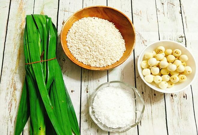 Hướng dẫn cách nấu xôi dừa hạt sen cúng gia tiên ngày Tết