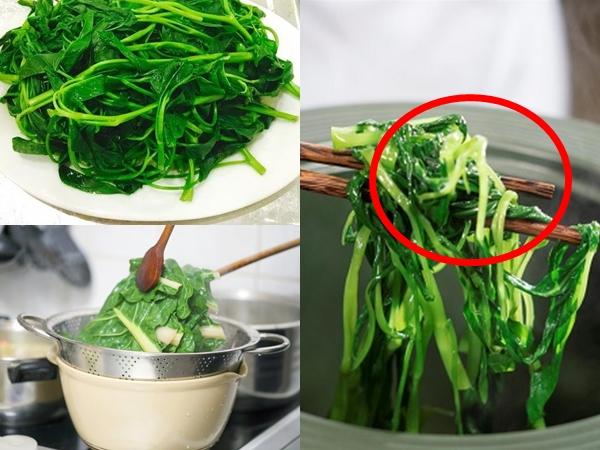 Mẹo luộc rau xanh mướt, không hề bị thâm đen, giòn ngon và giữ trọn dinh dưỡng